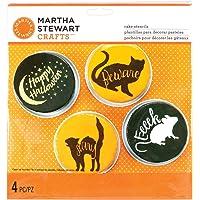 Martha Stewart Crafts Cake Stencils, Animal Masquerade