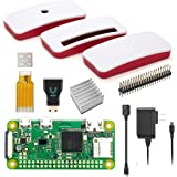 Vilros Raspberry Pi Zero W Basic Starter Kit with Official Case-Power Supply and More