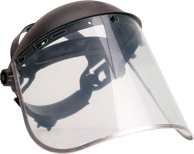 Construction BRUFER 223102 Full Face Shield Mask for Grinding General...