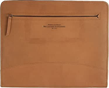"""Zippered Leather Business Portfolio 