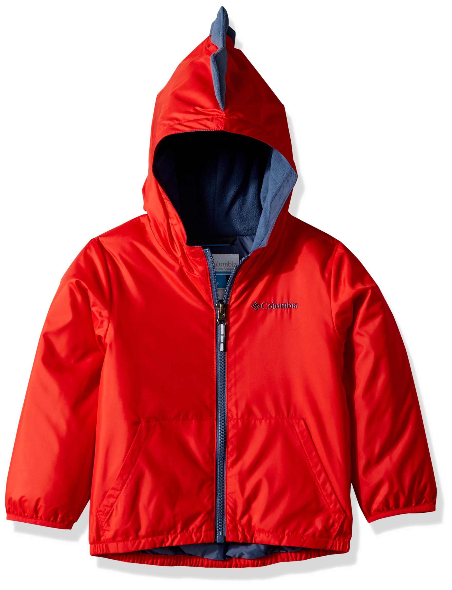 Columbia Kids & Baby Toddler Kids Kitterwibbit Jacket, Red Spark, 2T by Columbia