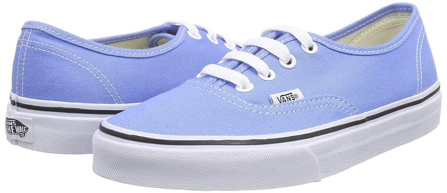 Amazon.com | Vans Unisex Authentic Marina/True White Skate Shoe 8.5 Men US  / 10 Women US | Skateboarding