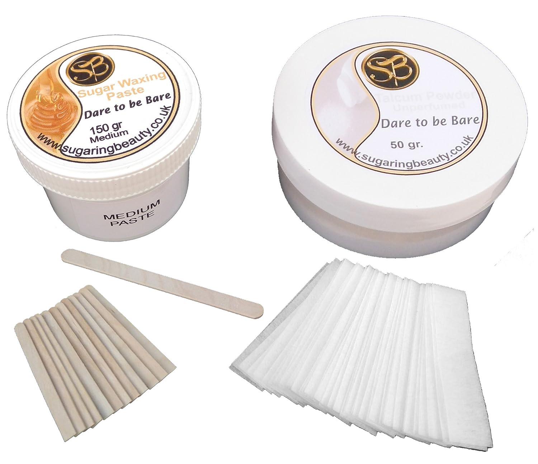 150 Grams Ear, Nose & Eyebrow Sugaring Hair Removal Kit - Medium Paste Sugaring Beauty