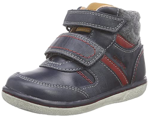 Baby Boys B New Flick High-Top Sneakers, Marine/Blue Geox