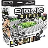 Bionic Steel 25 Foot Garden Hose 304 Stainless Steel Metal Hose – Super Tough & Flexible Water Hose, Lightweight, Crush Resis