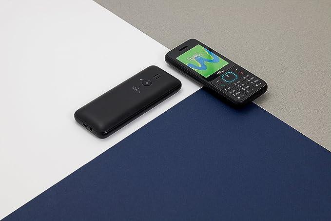 "WIKO Riff3 – Teléfono móvil libre de 2.4"" (Dual SIM, Radio FM ..."