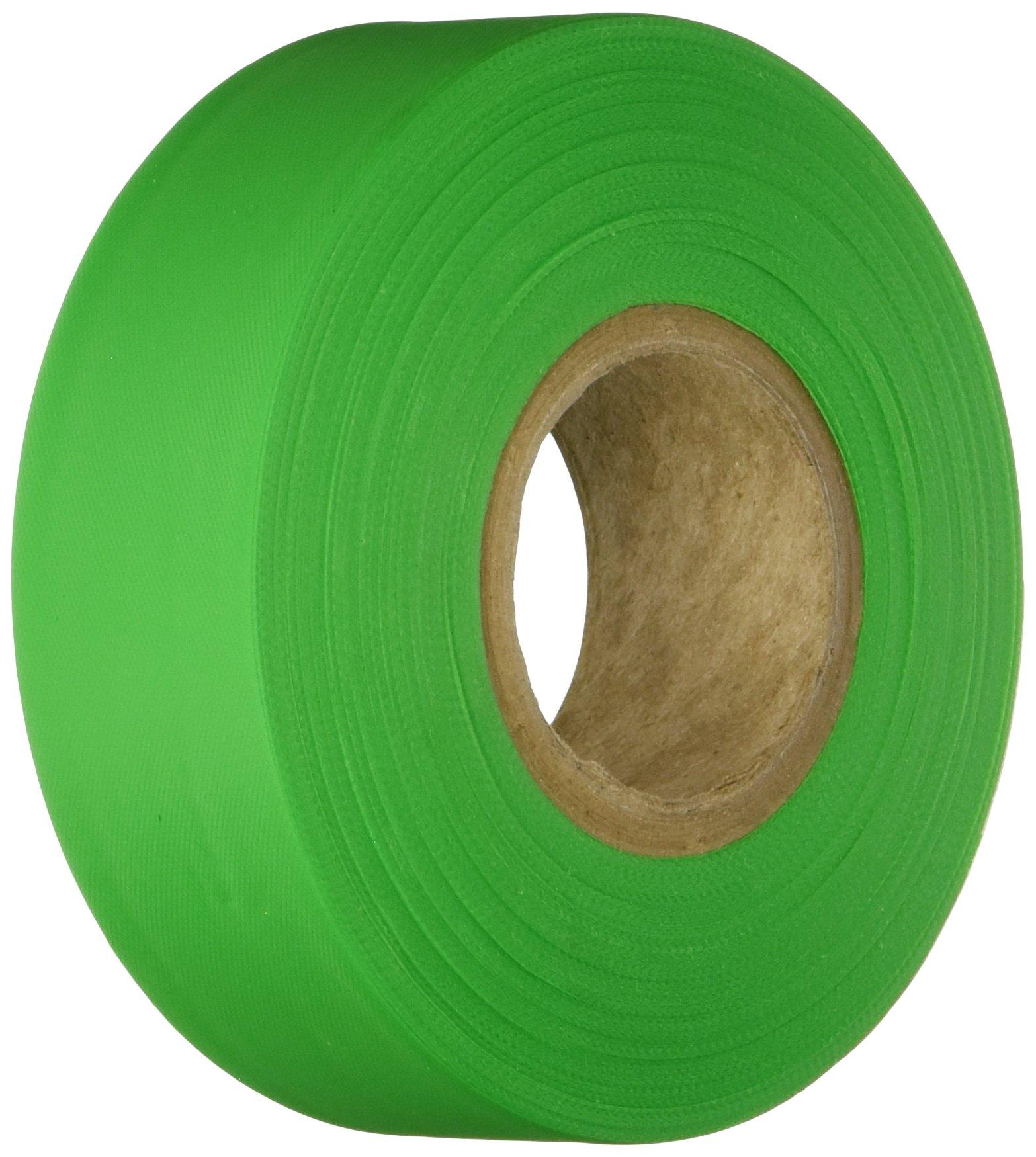 Brady 58353 Barricade Tape, Fluorescent Green