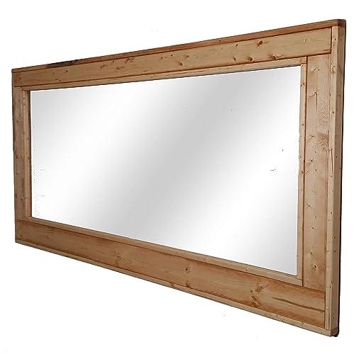 Amazon.com: Herringbone Large Mirror 60 x 30 Double Vanity Mirror ...