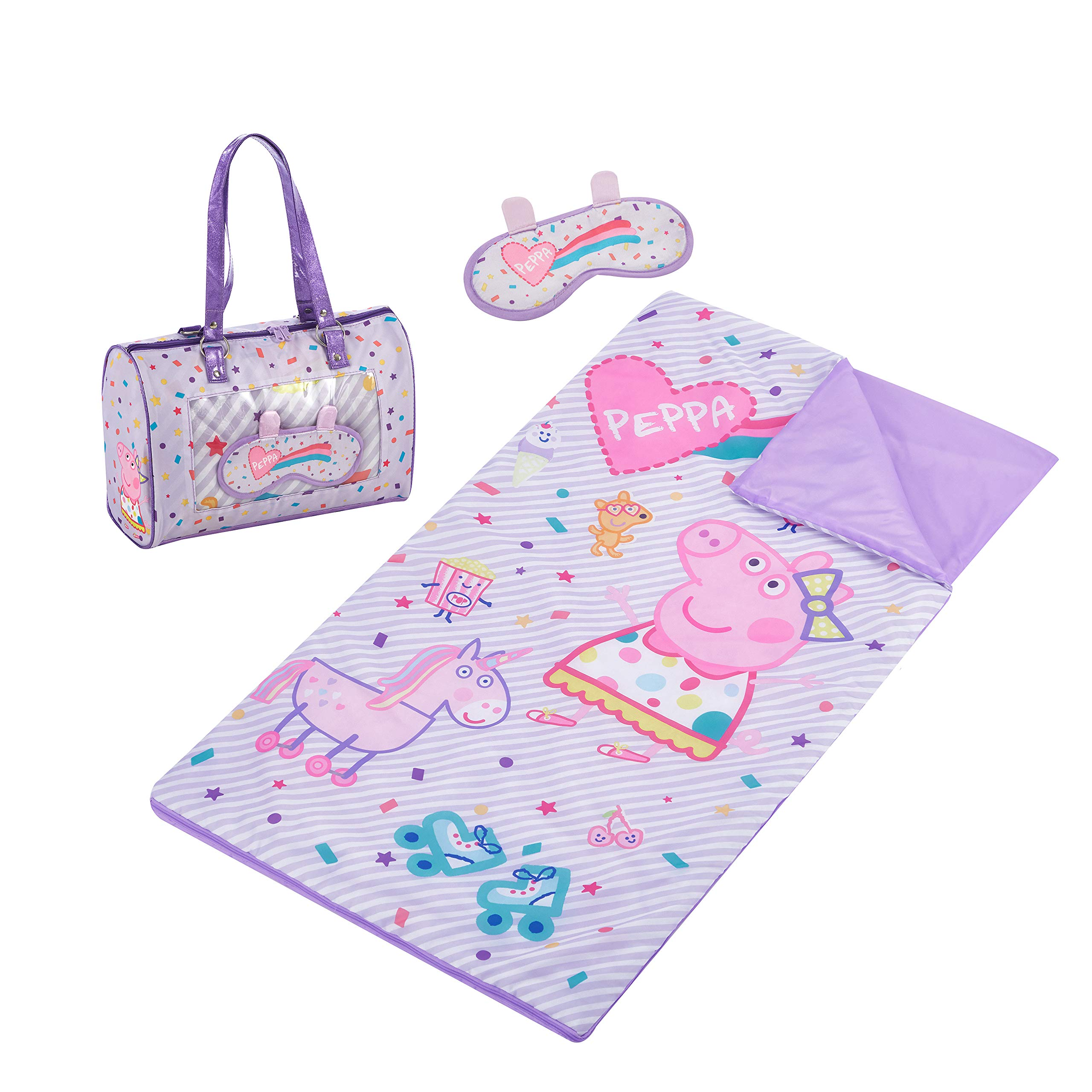 Entertainment One Peppa Pig Sleepover Purse & Eye Mask Set
