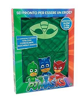 Giochi Preziosi nbsp;- Disfraz de Carnaval de PJ Masks, diseño de Gekko,