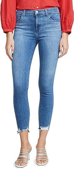 J Brand Womens Alana High Rise Crop Skinny Jeans