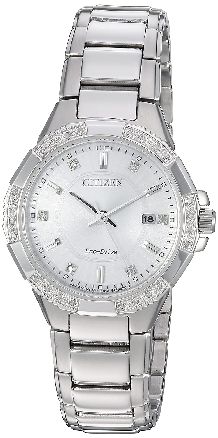 Citizen Women s Eco-Drive Riva Stainless Steel Watch