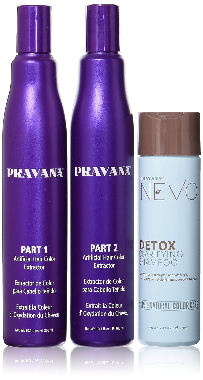 Amazon Pravana Artificial Hair Color Extractor Combo Set
