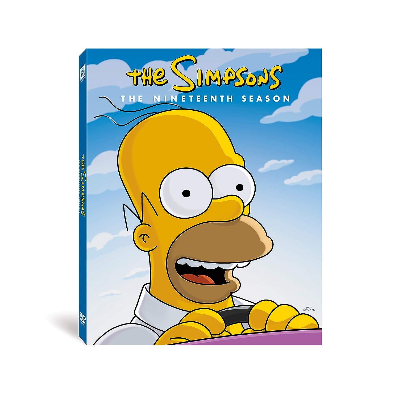 Amazon Com Simpsons Season 19 The Groening Matt Movies Tv
