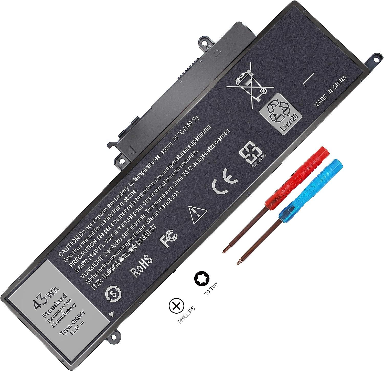 GK5KY 4K8YH Battery for Dell Inspiron 11 3147 3148 3152 3153 3157 3158 Inspiron 13 7347 7348 7352 7353 7359 Inspiron 15 7558 7568 P55F001 Laptop 04K8YH 92NCT 092NCT 451-BBKK P20T RHN1C