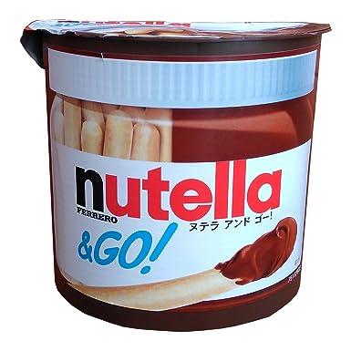 Ferrero Nutella & Go (crema de avellana y la barra de ...