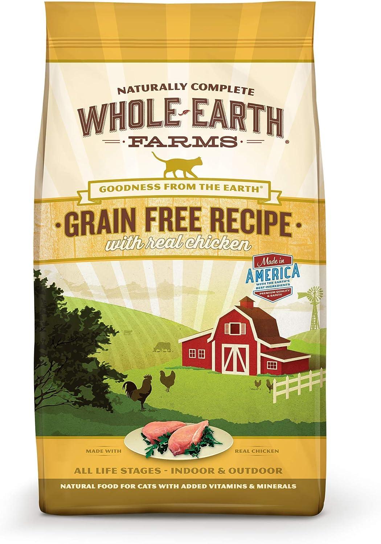 Whole Earth Farms Grain Free Chicken Recipe 5.0 lb Bag