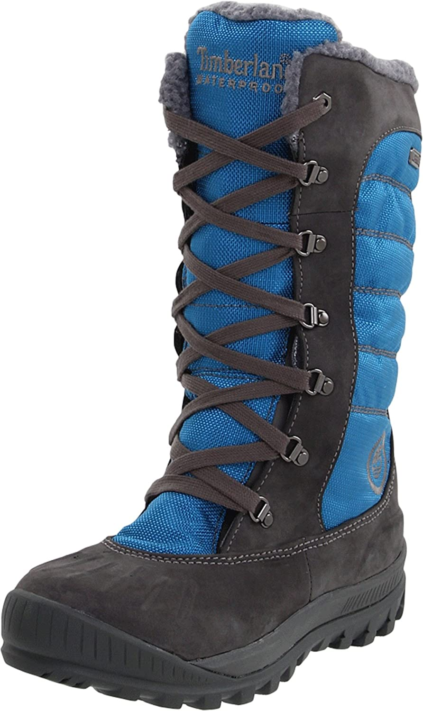 Real Anónimo moneda  Timberland - Botas para Mujer Gris Gris Oscuro/Azul: Amazon.es: Zapatos y  complementos
