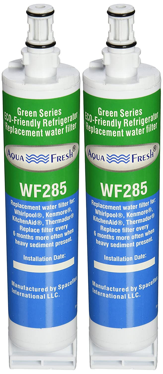 Aqua Fresh WF285 Replacement Refrigerator Water Filter for Whirlpool 4396508, EDR5RXD1, 46-9010, WSL-2