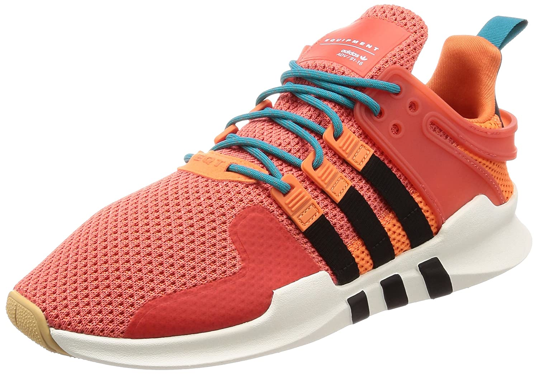 Orange (Trace Orange S18 blanc Tint S18 Gum 3) adidas EQT Support ADV Summer, Chaussures de Gymnastique Homme 36 EU