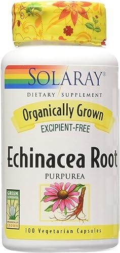 Solaray Organic Echinacea Purpurea Root Supplement