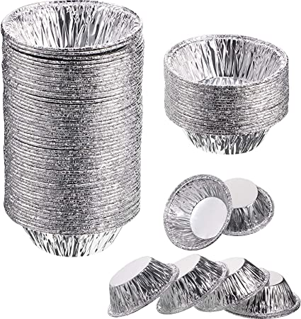 Individual Fruit Pie Tin Foil Cases approx 250