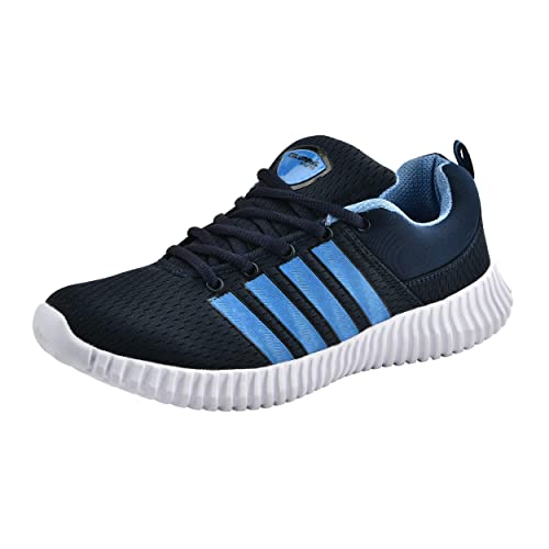 b559fb3473de3c Columbus Blast Navy Blue Sports Shoes for Men  Buy Online at Low Prices in  India - Amazon.in