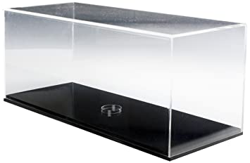 Amazon.com : Displays2go AF292X11BK Acrylic Display Case 11 x 29 ...