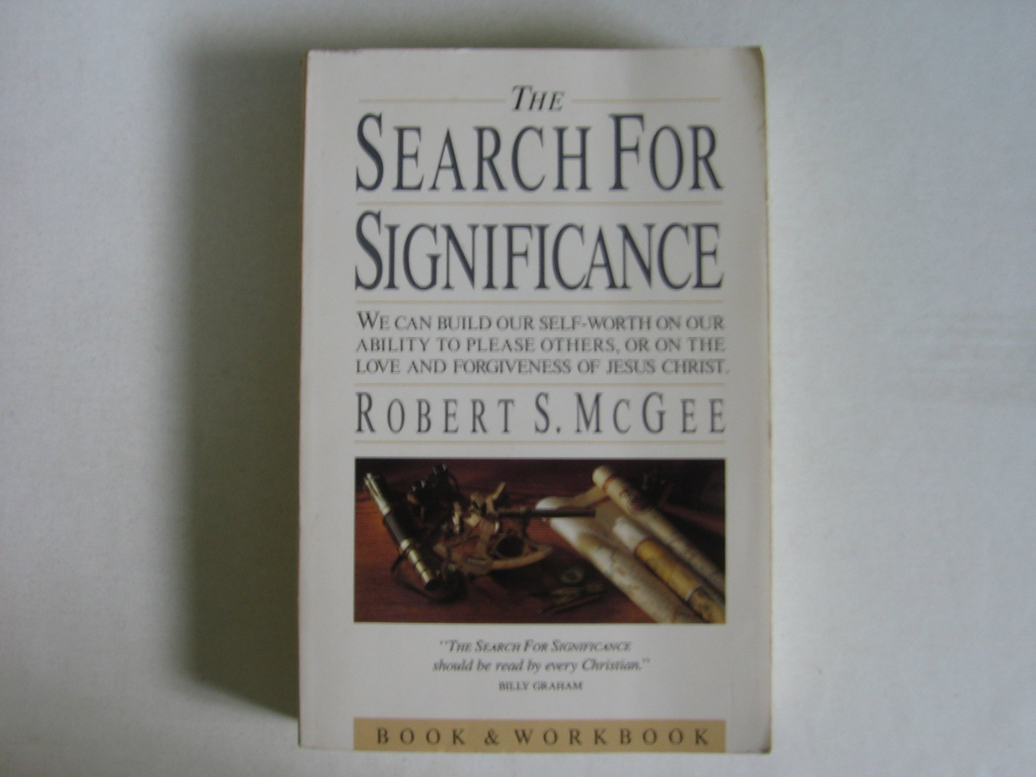 The Search For Significance, Book & Workbook: Robert S Mcgee: Amazon:  Books