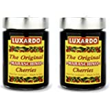 LUXARDO The Original Maraschino Cherries - 14.1 oz (Pack of 2)