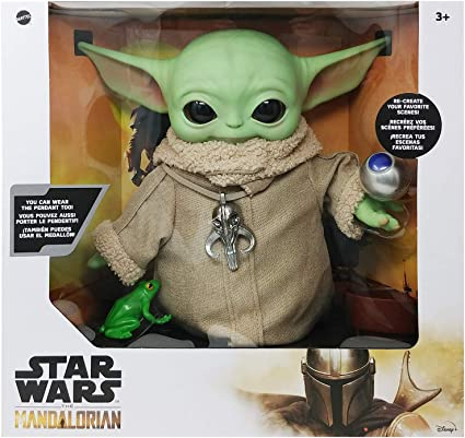 30-Inch Small Yoda Soft Figure The Mandalorian Star Wars The Child Plush Toy