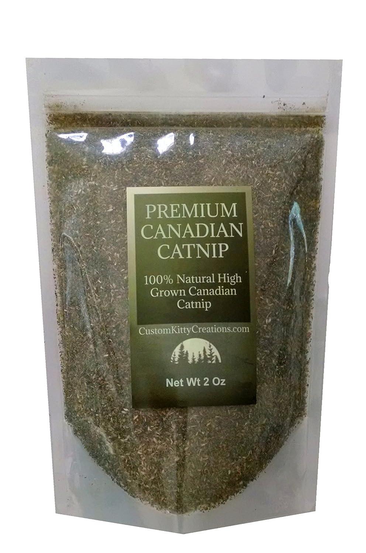 Fresh Premium Canadian Catnip Coarse and Fine Cut Catnip Treat