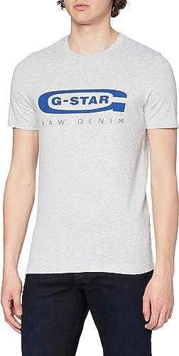 TALLA XS. G-STAR RAW Graphic Logo 4 Camiseta para Hombre