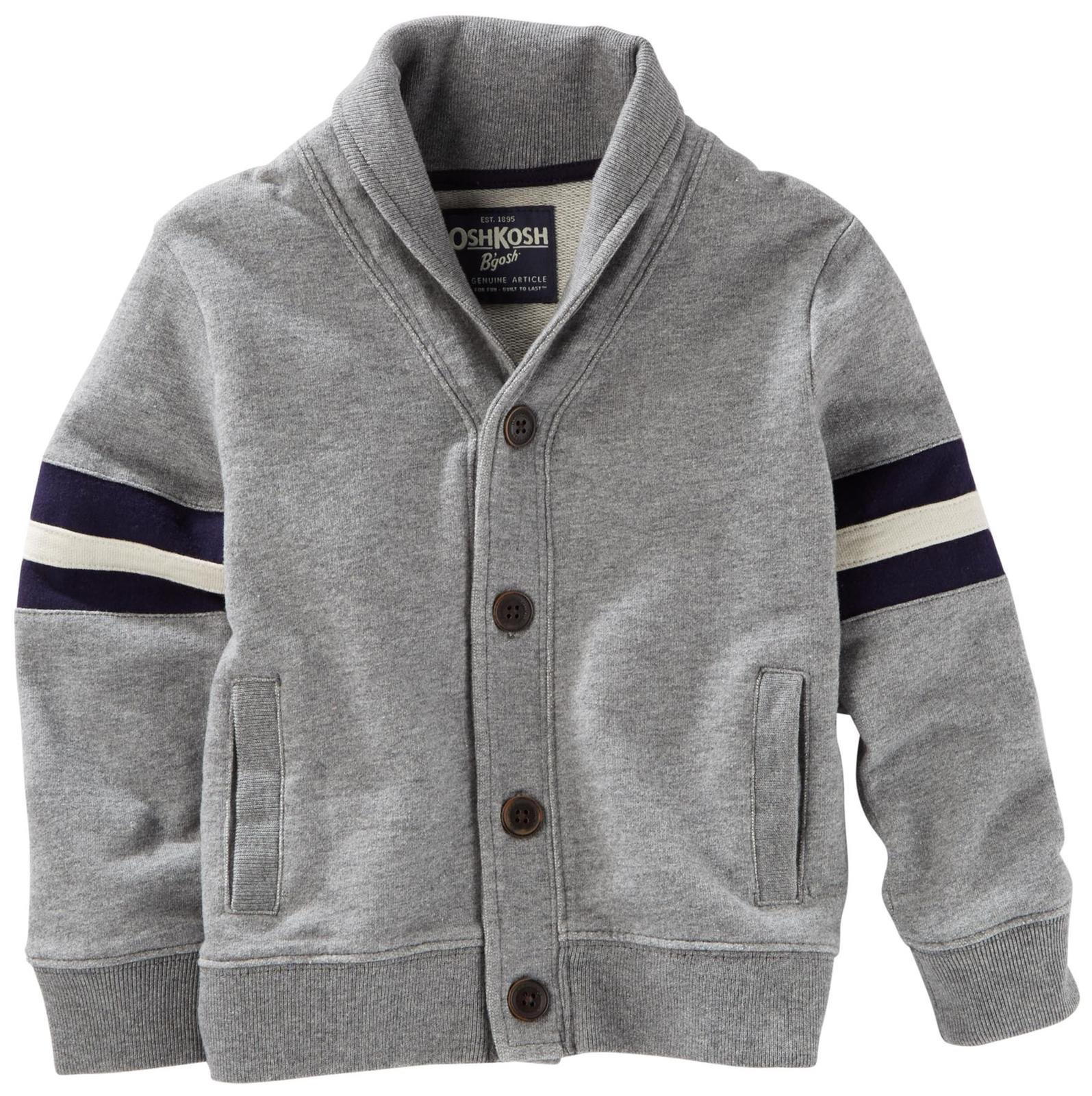 OshKosh B'Gosh Boys' Knit Layering 22153910, Heather (053) 4T