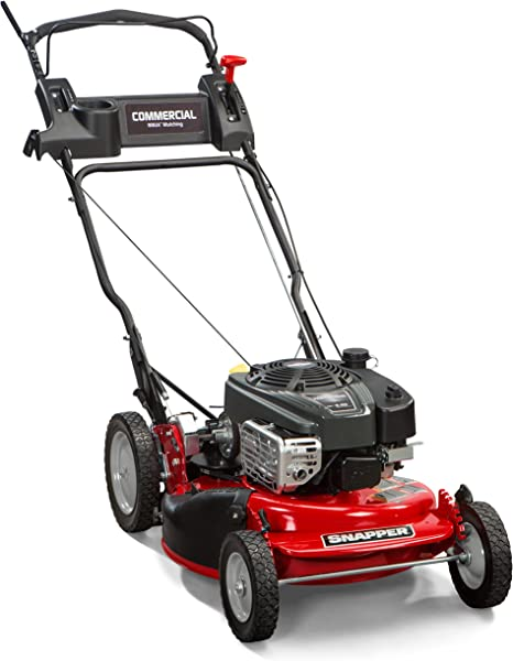Snapper CRP218520 / 7800968 NINJA 190cc Rear Wheel Drive Variable Speed Commerial Series Lawn Mower with 21-Inch Deck, Ninja Mulching Blade and 7 ...