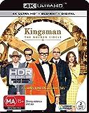 KINGSMAN, THE GOLDEN CIRCLE (UHD)(DHD)(2 DISC)