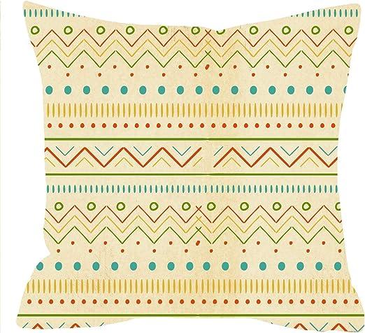 Newhomestyle Funda de Almohada de algodón con diseño de