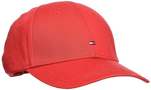 2d5ba740 TOMMY HILFIGER Men's Classic Baseball Cap, Apple Red, ONE: Amazon ...