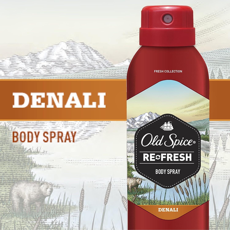 Amazon com : Old Spice Refresh Collection Denali Men's Body