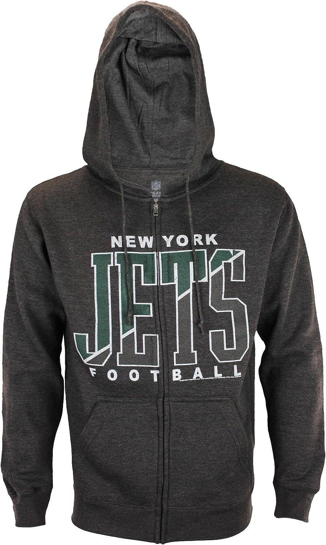 New York Jets NFL Sunday Zip Hoodie by Junkfood
