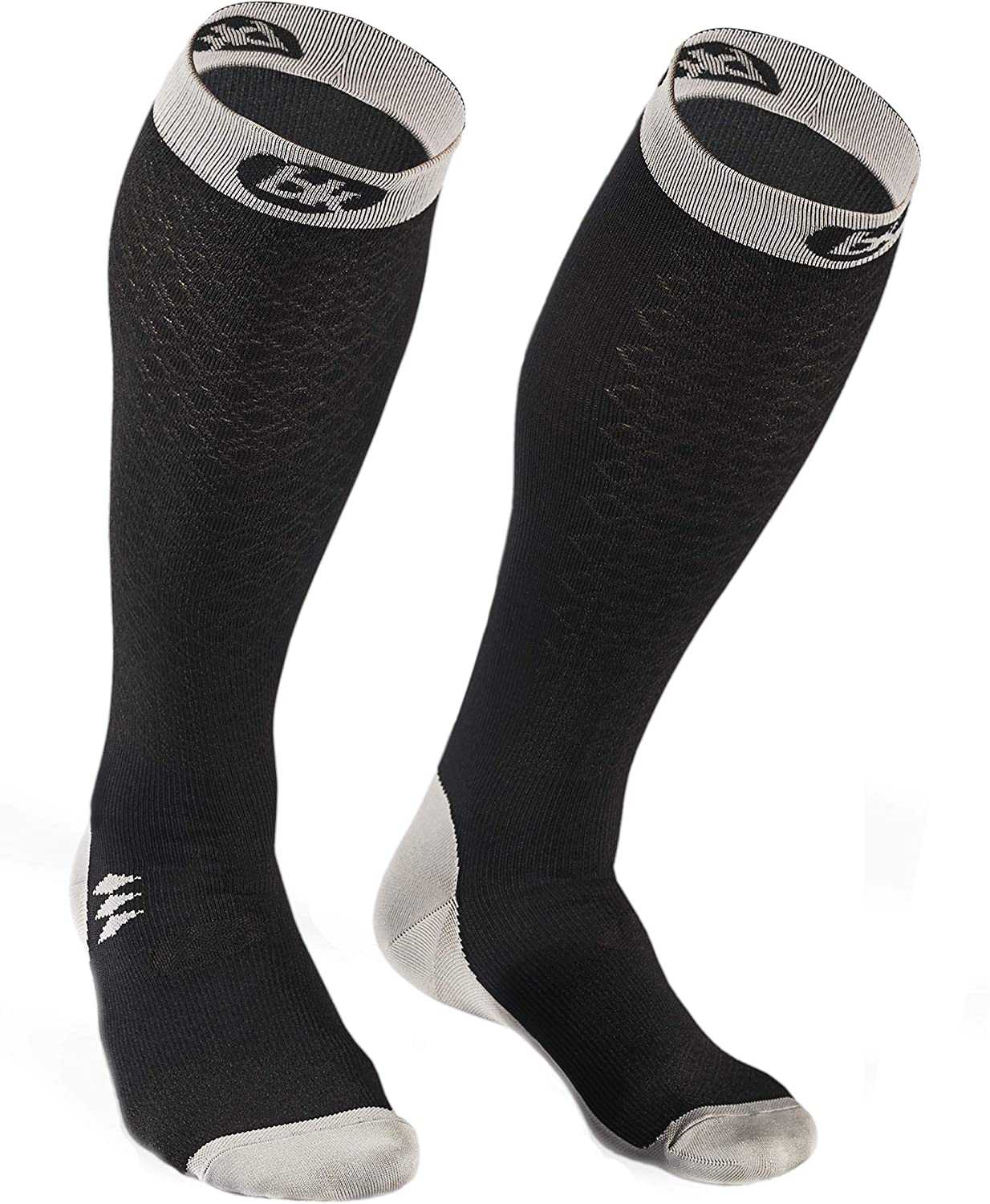 Bknees Compression Socks for Men and Women – Knee High – Athletic Socks for Running, Workout, Flying, Travel, Pregnancy – Improve Performance, Recovery Time and Blood Circulation (20-30 mmHg)