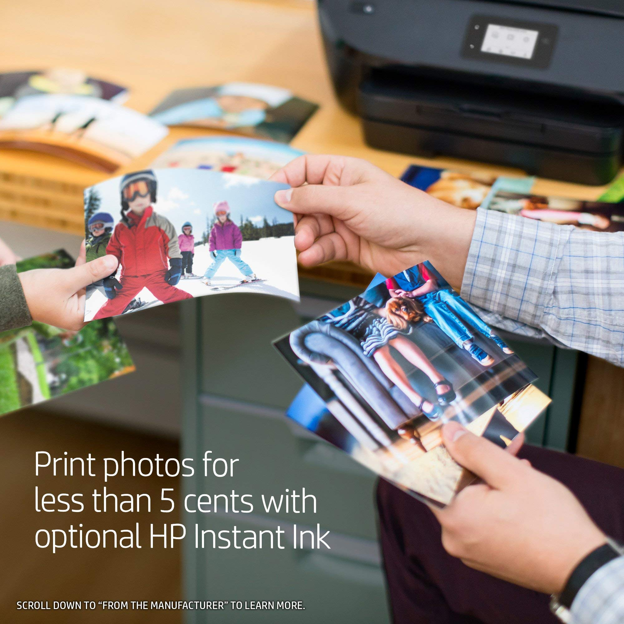 HP ENVY Photo 7855 All in One Photo Printer with Wireless Printing, Instant Ink ready (K7R96A) (Renewed) by HP (Image #5)