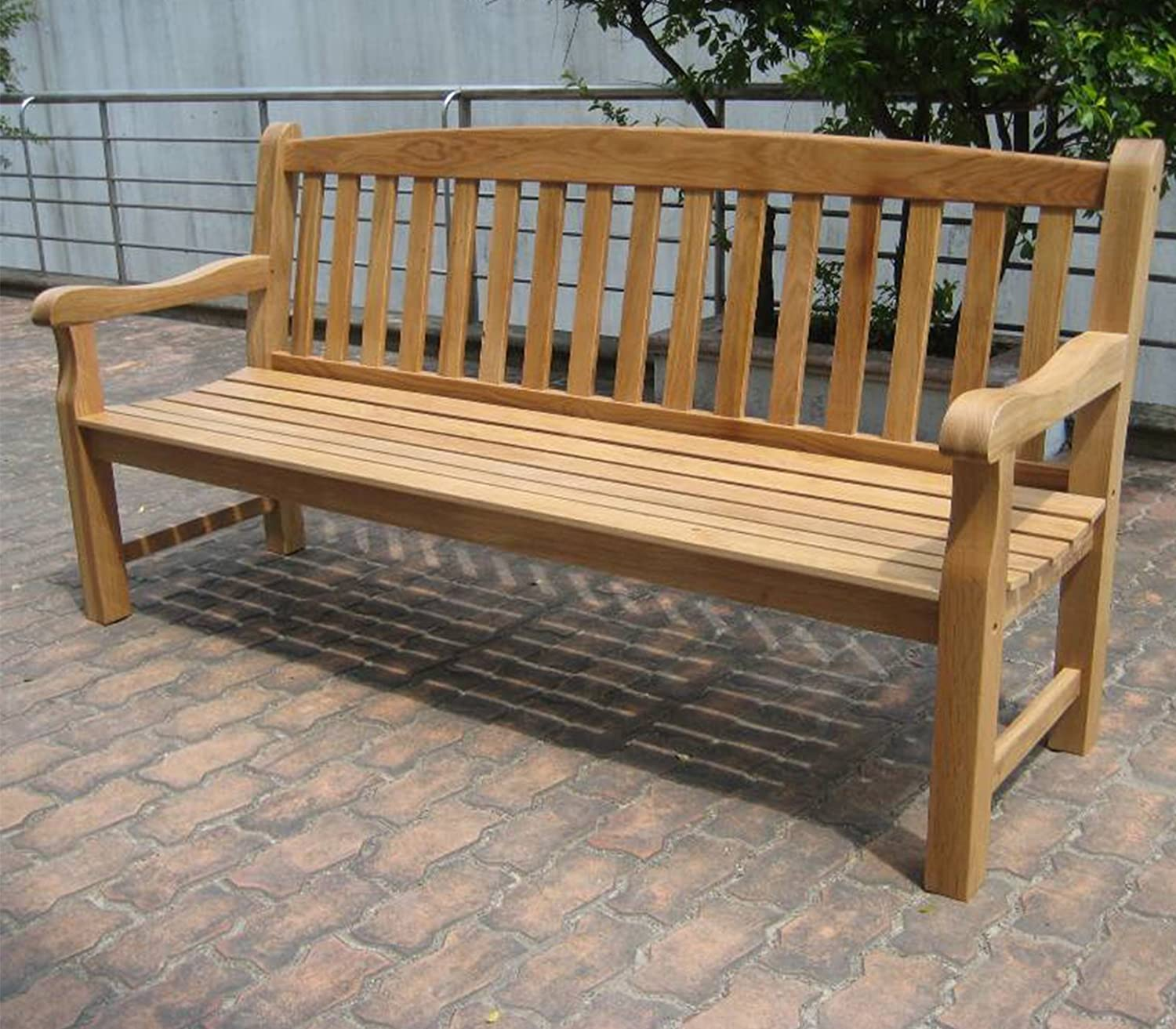 seat on p furniture java sale for garden teak asp chunky solid your price park now bench