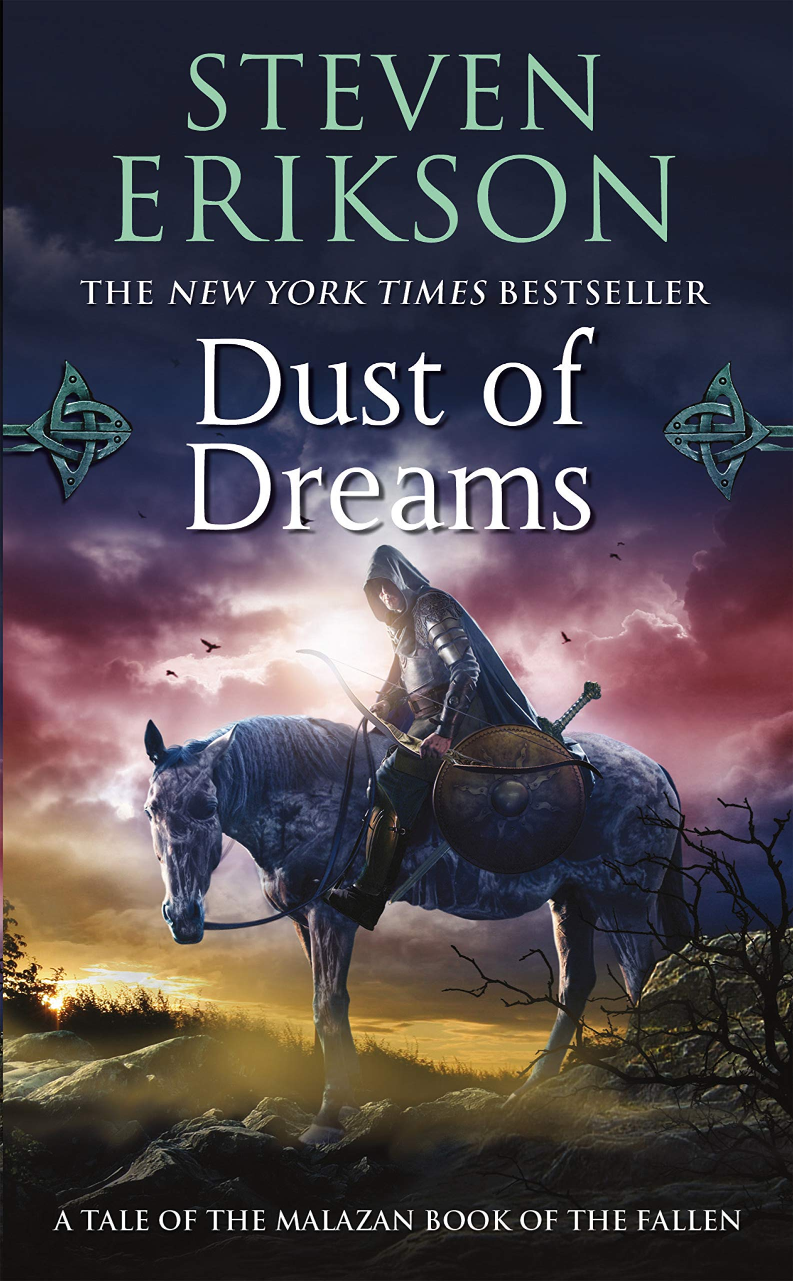 Dust of Dreams: Book Nine of The Malazan Book of the Fallen (Malazan Book  of the Fallen (9)): Erikson, Steven: 9780765348869: Amazon.com: Books