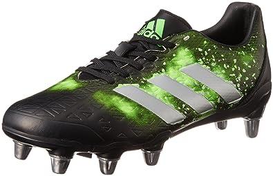new arrivals c0c34 0d20f adidas Herren Kakari Elite Sg Rugbyschuhe Noir Argent Vert Fluo -  leutz-8plus.de