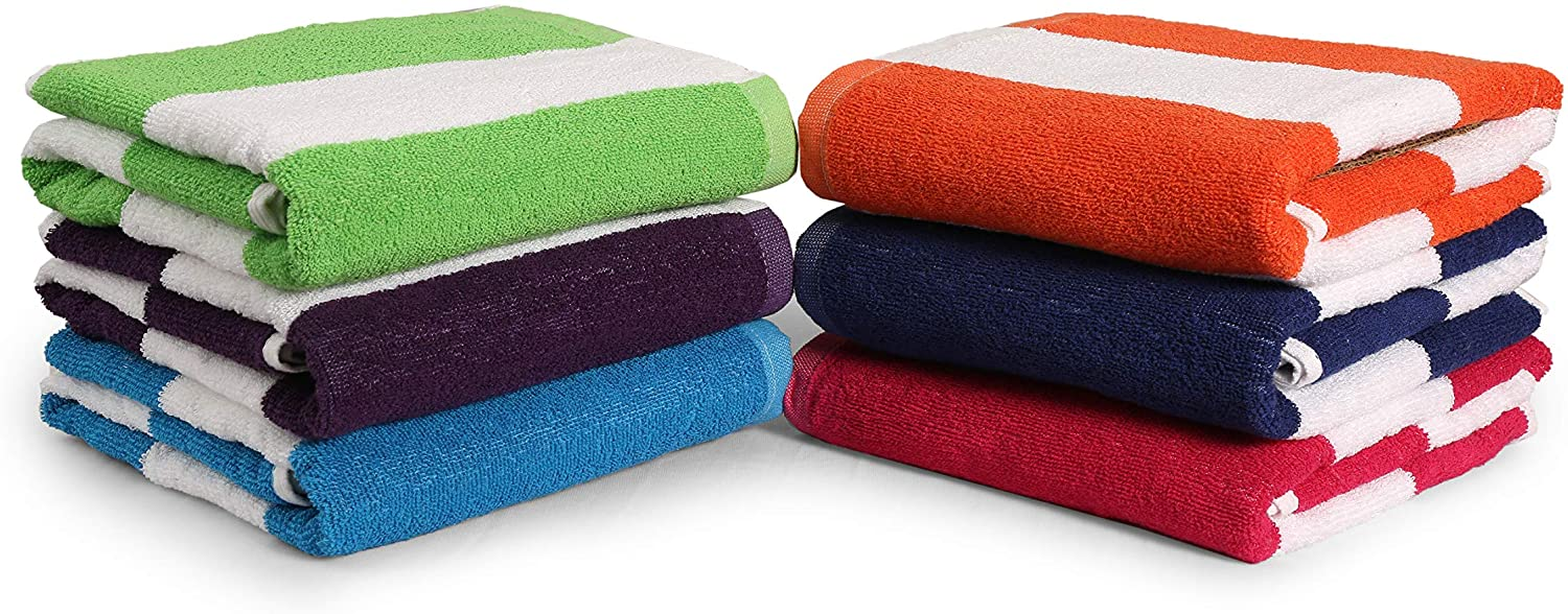 Large Plush Soft Bath Towels Strong Absorbent Gym Pool Spa Beach Towels Sheet