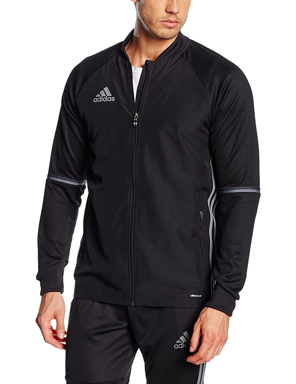 finest selection 31bdc b957b Adidas Condivo 16 Plain Training Jacket - Adult at Amazon Men s Clothing  store