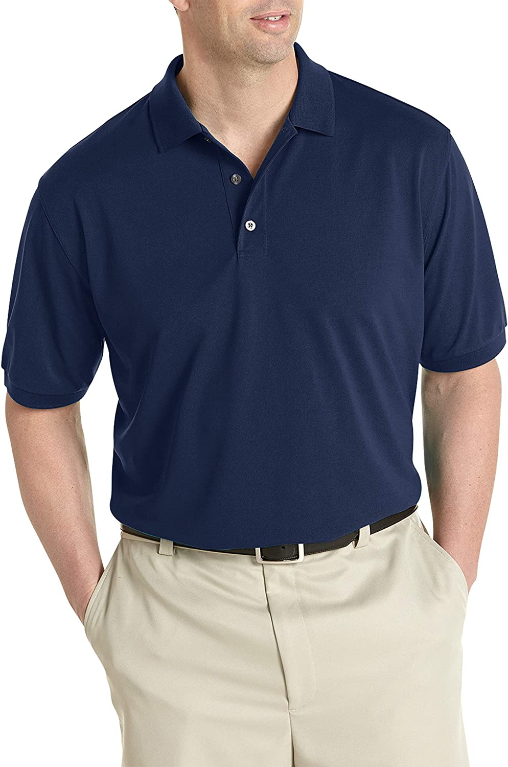 Oak Hill by DXL Big and Tall Performance Polo Shirt