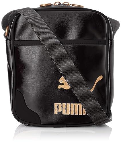 83d6de2cb2 Puma Originals Portable PU, Sac à cordon - Noir (Black), Taille Unique