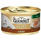 Gourmet Gold Katzenfutter Terrine, 12 Dosen (12 x 85 g)